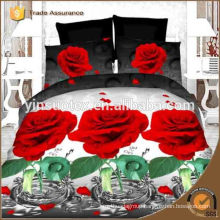 3D beautiful design bedding set,city design,flower design