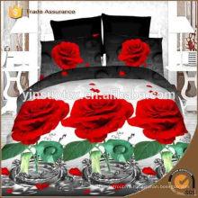 3D красивый дизайн постельных принадлежностей, городской дизайн, цветочный дизайн