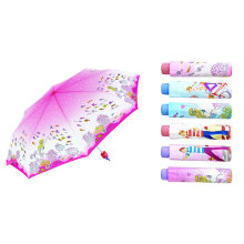 Heat-Transfer Print Compact Mini Umbrella (YS-3FM21083005R)