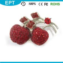 Red Apple Diamond USB Flash Drive für Mädchen (EP047)