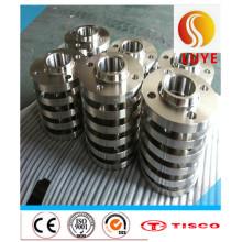 Нержавеющая сталь Выковала Фланец ASTM 304 316