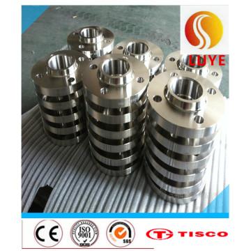 Flange forjada de aço inoxidável ASTM 304 316