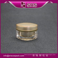 Bocal cosmétique de haute qualité, contenants de médecine plastique
