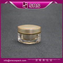 high quality cosmetic jar , elegant plastic medicine containers
