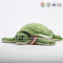 Long hair plush sea animal cushion,plush turtle cushion