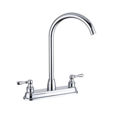 CE,IOS 9001 approved deck mounted 8inch Sink mixer, high quality brass sink faucet kitchen