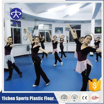 Indoor Dance Studio Lámina de suelo laminado de vinilo de PVC