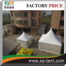 Indische Pergola Zelt 3x3m 4x4m 5x5m 6x6m für Hochzeitsfeier im Freien