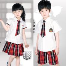 2016 Zoll Großhandel Kinder Schule Uniformen im Sommer Stil