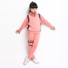 Ternos ocasionais da venda quente da roupa das crianças para meninas