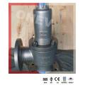 CF8m Válvula de Alívio de Segurança de Flange Fechado com Capô para Águas Residuais