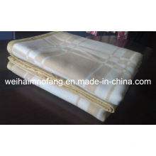 Tejido de lana 100% Cashmere Pashmina manta (NMQ-CWB001)