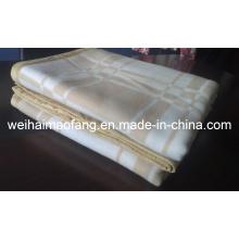 Тканые шерстяные 100% кашемир Pashmina одеяло (NMQ-CWB001)