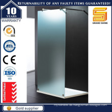 Gehen Sie in frosted Frameless Glass Shower Enclosures