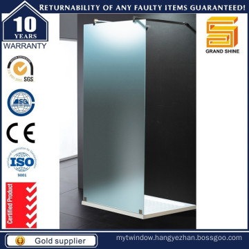 New Design Hot Sale Walk Through Shower Doors