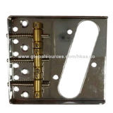Tele style bridge for guitar, different material available, OEM/ODM providerNew