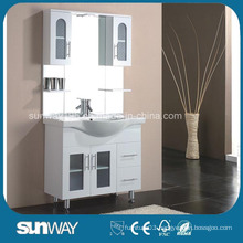 Floor Standing Gloss Painting MDF Bathroom Cabinet