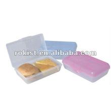 caixa de pão de plástico