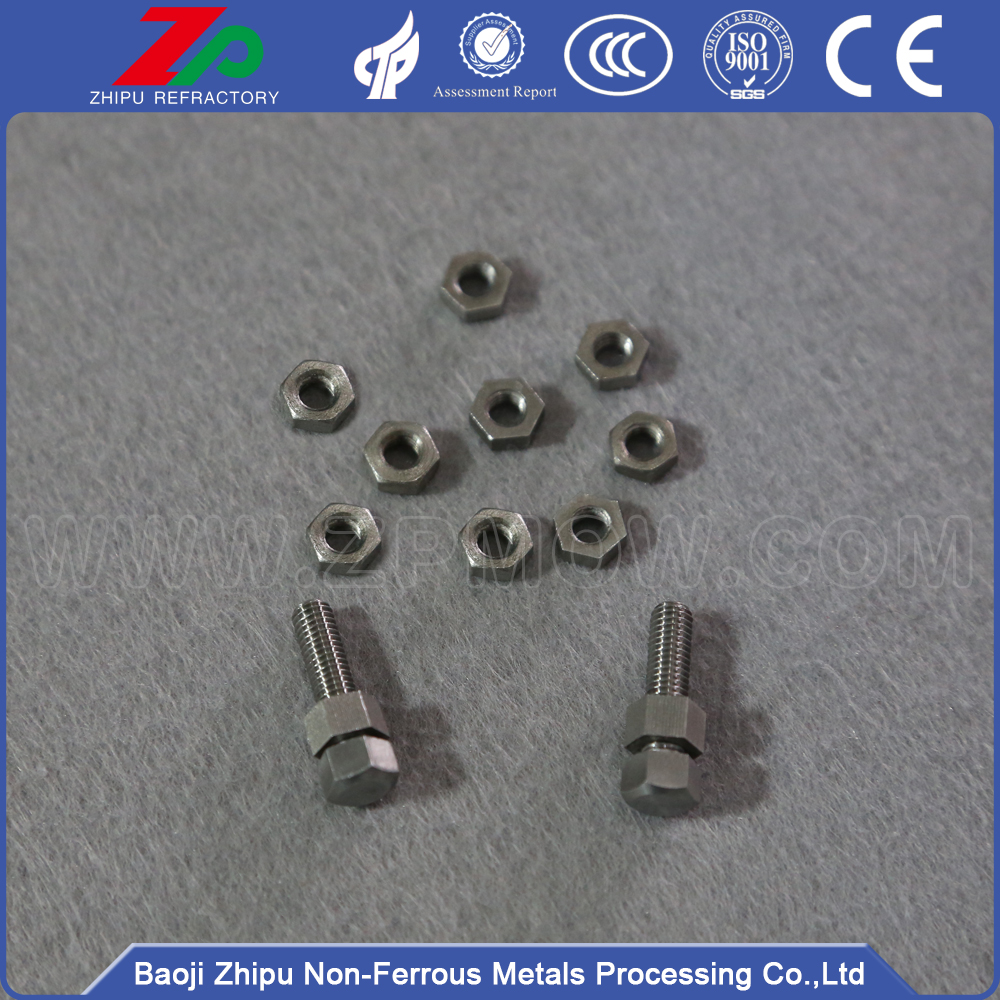 Good price molybdenum screw and nut