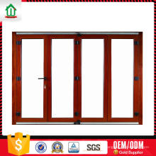Porte pliante légère en aluminium ajusté sur mesure de qualité d'exportation Porte pliante légère en aluminium ajustée de qualité sur mesure