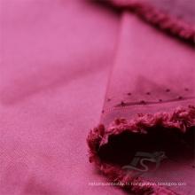 Imperméable à l'eau et à l'extérieur Vêtements de sport en plein air Veste couchée Woven Plain 100% Tissu en nylon (NX029)