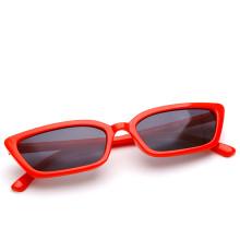Promotional China custom logo cheap wholesale women small rectangle sunglasses
