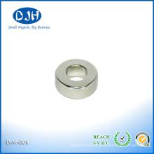 Realmente forte ímã de anel raro permanente N48 para sensores