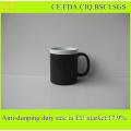 Best Selling 11oz Ceramic Chalk Mug / Blackboar Mug