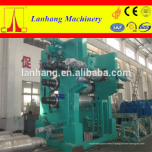 Machine de calandre en cuir PVC