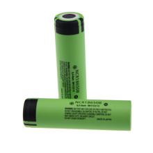 Batterie rechargeable Li-ion NCR Panasonic 3400mAh NCR18650b 3.7V
