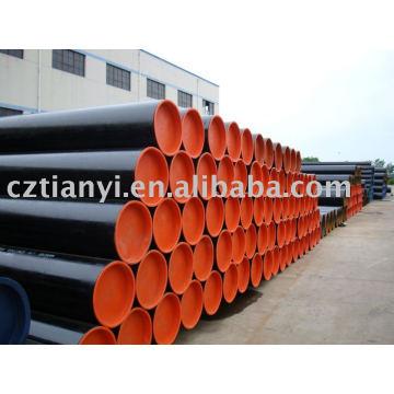 Oferecem tubos e tubos sem costura de aço carbono ASTM A106B