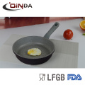 6pcs forged induction bottom marble coating cookware sets