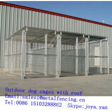 China supplier wholesale animal cages fence panels dog cages 3 runs XXXL dog cages outdoor dog cages with roofs