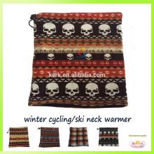 2015 Sombreros y gorras de la gorrita tejida bufanda polar del esquí del calentador del cuello del pasamontañas del paño grueso y suave