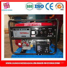 Tigmax Benzin Generator 5kw wichtigen Start für die Stromversorgung (TH7000DXE)
