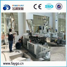 Granulação de corte a quente de plástico PVC / peletização fazendo linha de máquina