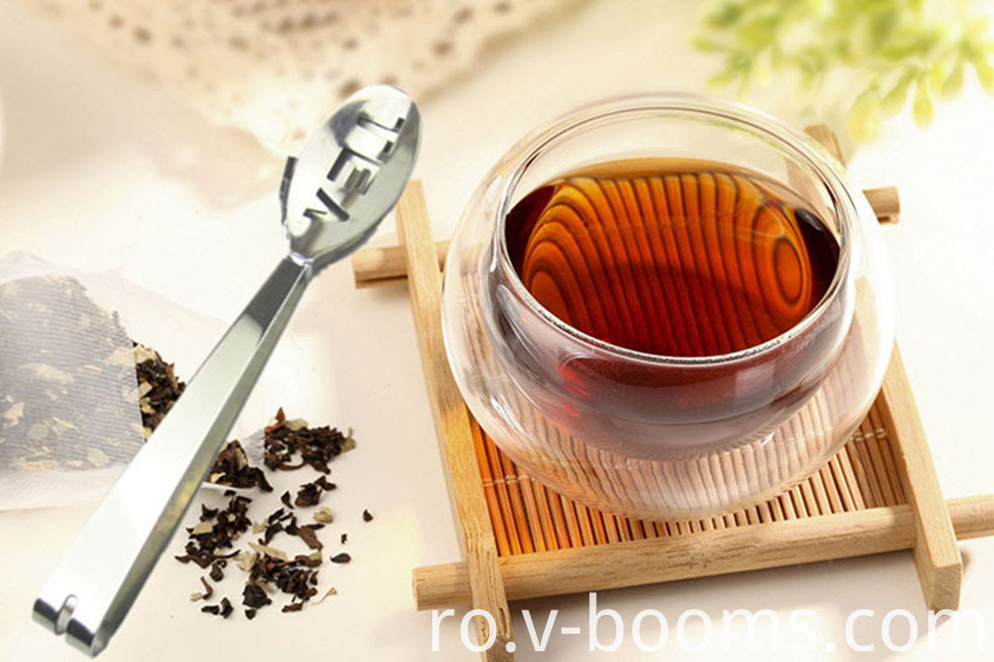 Stainless Steel 2-In-1 Tea Bag Clip