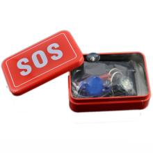 2016 nuevo SOS táctico superviviente kit emergencia SOS supervivencia kit para acampar