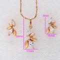 62274-Xuping Elegant Woman Jewelry Set Bisutería