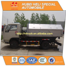 DONGFENG LHD / RHD 4x2 5M3 elevación hidráulica camión de basura 95hp precio barato venta caliente