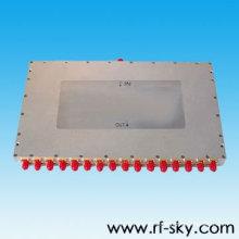 Poder alto 0.8-2.8GHz puerto 1 a 16 rf poder Splitter hecho en China