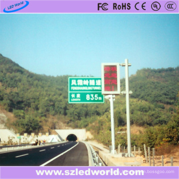 P10 Red Color LED Display Screen Board Panel on High Way