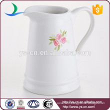 Wholesale stoneware jug with decal