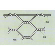 Malla de alambre hexagonal con alta calidad
