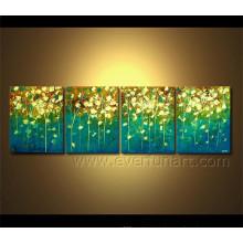 Handmade, abstratos, abstratos, paisagem, óleo, quadro