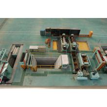 Máquina de corte de chapa de aço e ferro máquina de corte totalmente automática