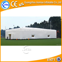 Cube inflatable event tent, inflatable house tent, white inflatable lawn tent