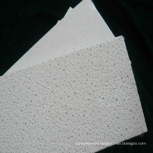 Azulejos de techo del tablero del techo de la fibra mineral de la textura de Sandy (600 * 600, 610 * 610 etc)
