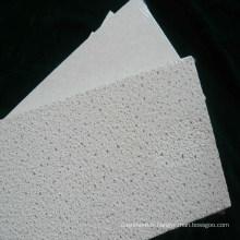 Tuiles de plafond de panneau de plafond de fibre minérale de texture de sable (600 * 600, 610 * 610 etc.)