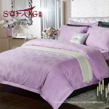 Luxury cotton cheap choice hotels bedding 30S/40S/60S jacquard